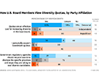 how u.s. board members view diversity quotas, by party affiliation